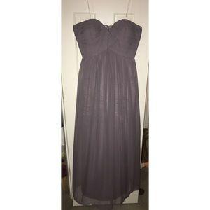 Donna Morgan Prom/Bridesmaid Dress Greyish Purple